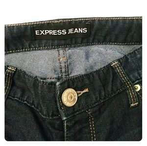 Express Fitted Bootcut Jeans